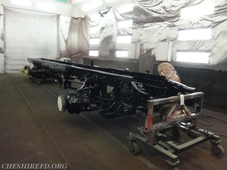 New Ladder Truck Construction Photos and Update - Cheshire Fire ...